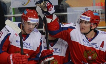 Russia Yevgeny Malkin, Alexander Ovechkin