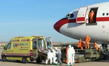 Miris ar Ebolas vīrusu inficētais Spānijas garīdznieks