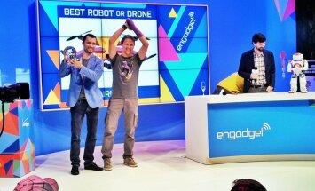 Latviešu 'AirDog' atzīst par labāko inovāciju pasaulē lielākajā tehnoloģiju izstādē