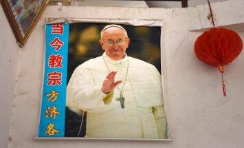 Francisks atzīst septiņus Ķīnas bez Vatikāna ziņas ieceltus bīskapus