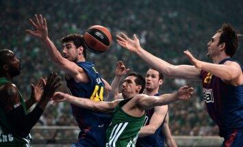 'Panathinaikos' komanda saņem 100 000 eiro sodu par nekārtībām mājas spēļu laikā