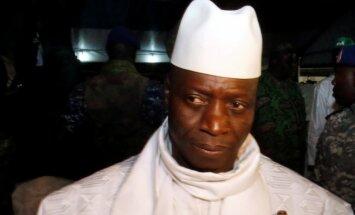 Bijušajā Kurzemes kolonijā Gambijā vēlēšanās atkal paredz Džameha uzvaru