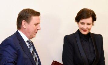 Kučinskis un finanšu ministre sola stabilu nodokļu politiku vismaz tuvākos gados
