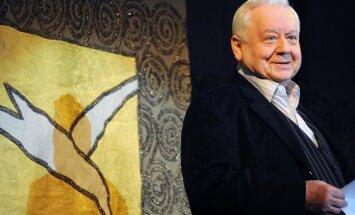 Rīgā viesosies izcilais aktieris Oļegs Tabakovs ar savu jaunāko izrādi