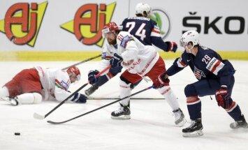 Video: Baltkrievijas hokejisti sagādā sensāciju