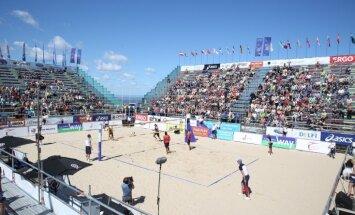 Gandrīz miljons turnīram un tikai nedaudz sportistiem jeb Latvija gatavojas pašmāju EČ pludmales volejbolā