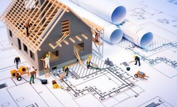 'Aplokšņu algu' mazināšanai būvniecībā piedāvā ieviest nozares ģenerālvienošanos