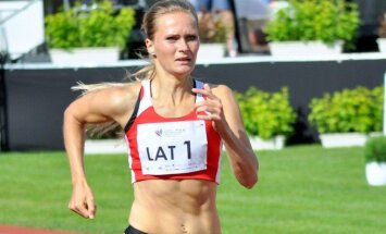Līga Velvere labojusi 45 gadus senu Latvijas vieglatlētikas rekordu