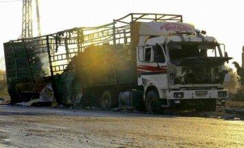 ANO sāks Sīrijas konvoja apšaudes izmeklēšanu