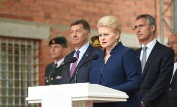 Грибаускайте: Литва доверяет США независимо от того, кто будет президентом