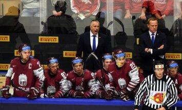 Hārtlijs lepns par Latvijas hokejistiem: šo uzvaru nopelnīja visa komanda