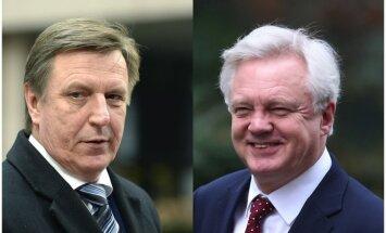 Kučinskis tiksies ar 'Brexit' ministru