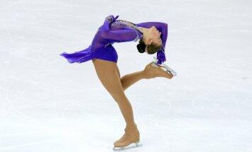 Daiļslidotāja Kučvaļska: esmu ļoti apmierināta ar savu sniegumu Eiropas čempionātā