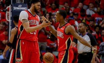 Deiviss un Holidejs ieved 'Pelicans' NBA izslēgšanas turnīra otrajā kārtā