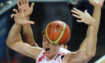 Krievu basketbolists Kauns parakstījis līgumu ar NBA finālisti 'Cavaliers'