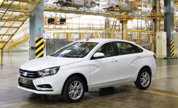 'Lada Vesta' modelī 'Renault' pārnesumkārbu aizstāj ar vietējā ražojuma