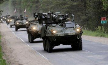 'Delfi' NATO: Kuras valstis tiešā veidā rūpēsies par drošību Austrumeiropā