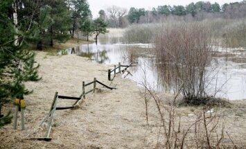 Tuvākajās dienās upēs gaidāma ūdens līmeņa paaugstināšanās