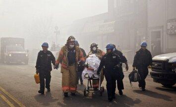 Ņujorkas dzīvojamo ēku gruvešos bojāgājušo skaits sasniedzis astoņus