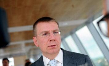Rinkēvičs neizslēdz atsevišķu valstu mēģinājumus ietekmēt Latvijas iekšpolitiku