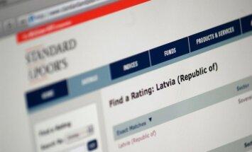 Latvijas kredītreitingu saglabā līdzšinējā 'A-' līmenī