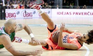 'Žalgiris' piedzīvo ceturto zaudējumu ULEB Eirolīgas TOP 16 komandu cīņās
