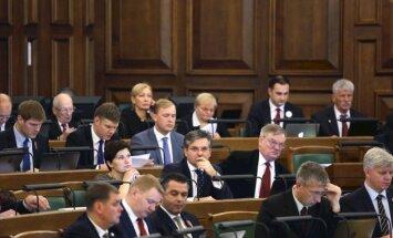 Krievijas 'melnajā sarakstā' iekļauta vismaz desmitā daļa Saeimas deputātu