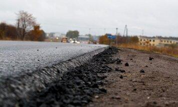 На дорогах Латвии продолжается ремонт: в понедельник— новые ограничения