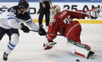 Finland Sebastian Aho, Belarus Kevin Lalande