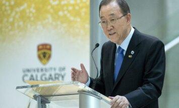 Kimuns: pēdējais laiks, lai par ANO ģenerālsekretāru kļūtu sieviete