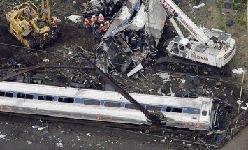 ASV no sliedēm noskrējušais vilciens divreiz pārsniedzis ātrumu