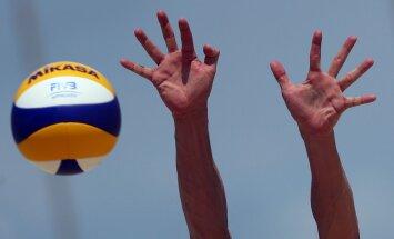 Četri Latvijas pludmales volejbola pāri Marokā sasniedz PK posma ceturtdaļfinālu