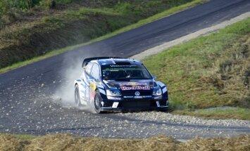 Ožjē strauji tuvojas kārtējam WRC čempiona titulam