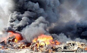 Kaujinieku grupējums uzņemas atbildību par diviem sprādzieniem Damaskas centrā
