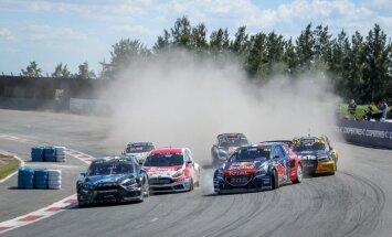 Baumanis un Nitišs 'World RX' sezonu noslēdz ar pusfinālu Argentīnas posmā