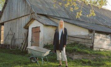 Foto: Zīmola 'Burz' jaunā kolekcija, kurā turpina cildināt lina audumu