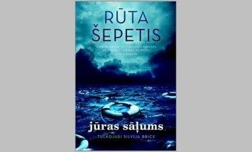 Izdots lietuviešu izcelsmes rakstnieces Rūtas Šepetis romāns 'Jūras sāļums'
