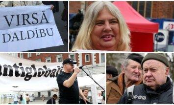 'Latviju latviešiem' un noviržu popularizēšana – bēgļu jautājums sanikno radikāļus