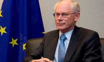 Van Rompejs gatavojas aiziet no politikas
