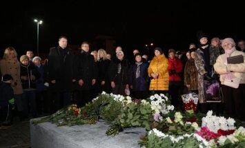 Пострадавшие требуют, чтобы памятник в Золитуде поставили на месте трагедии, а не на автостоянке