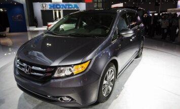 'Honda' ASV atsauc 800 000 mikroautobusu ar defektīvām detaļām