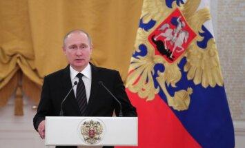 Nākamais gads Krievijai nesīs mieru un uzplaukumu, sola Putins