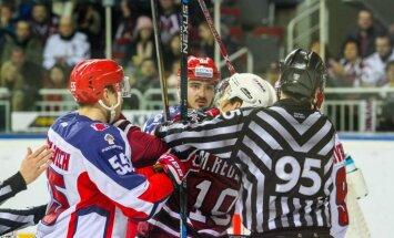 Video: Rīgas 'Dinamo' nespēj 'atslēgt' Maskavas CSKA vārtus
