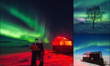 ФОТО. В Финляндии мини-отель поставили на лыжи - для лучшего вида на северное сияние