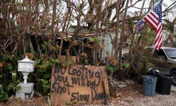 Viesuļvētras 'Irma' upuru skaits Floridā pieaug līdz 72 cilvēkiem