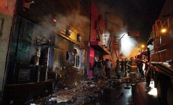 Dramatiski kadri: Sekundēs no svētkiem līdz ellei - traģiskākie naktsklubu ugunsgrēki