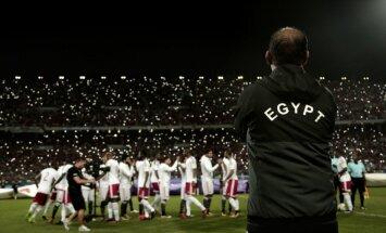 Ēģiptes izlases futbolisti par iekļūšanu PK saņems dāsnas valsts prēmijas