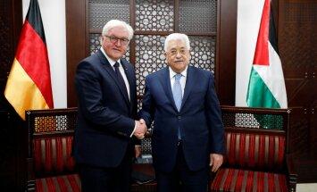 Izraēlas-Palestīnas konflikta risinājums ir divu valstu izveide, norāda Vācijas prezidents