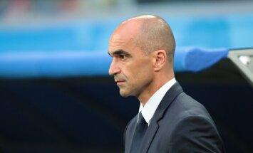 Beļģijas izlases treneris: Francija nebija labāka, visu izšķīra veiksme
