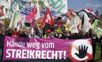 Vācieši protestēs pret ES un ASV brīvās tirdzniecības līgumu